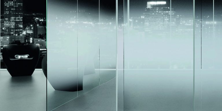 DecorSat. Office partitions in Nuvola gradient