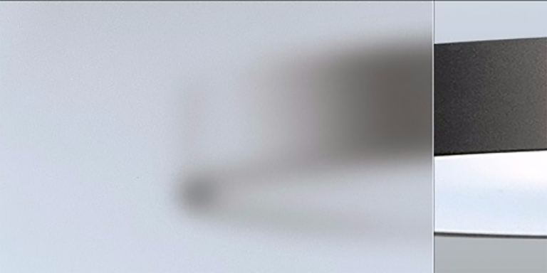DecorSat Screen in translucent option