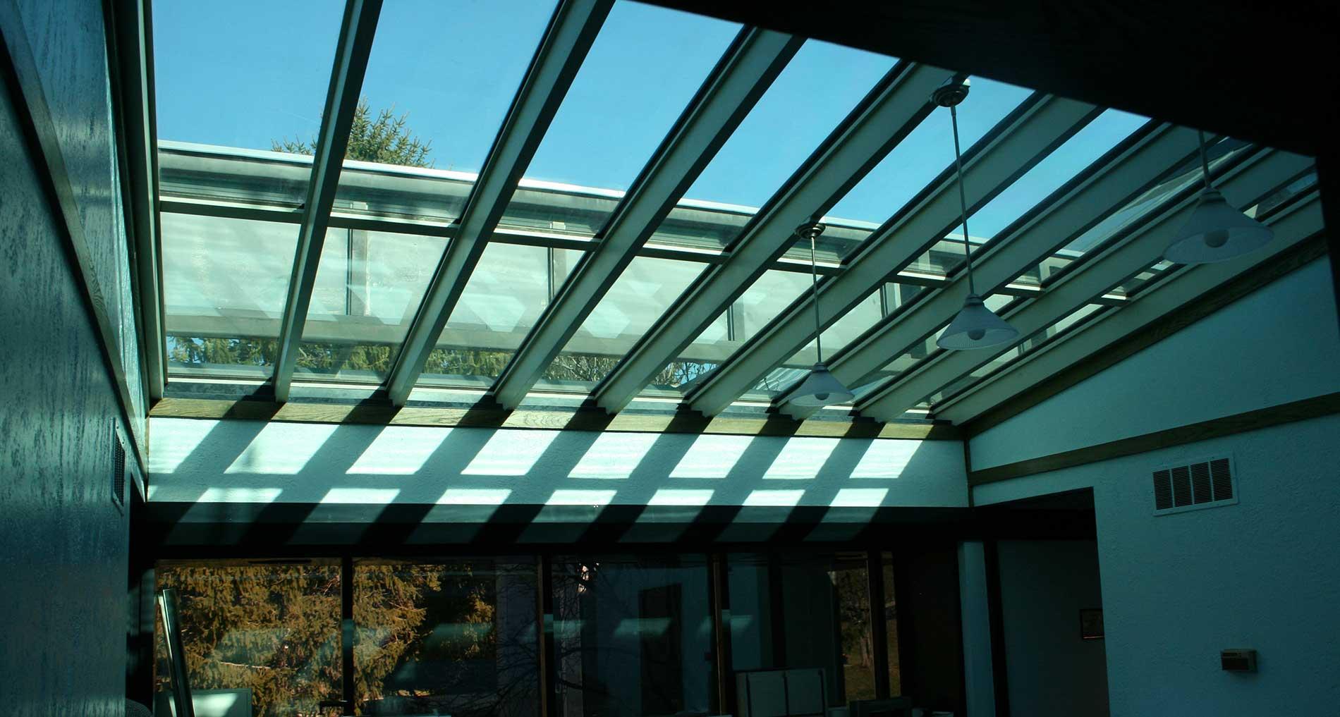 Suntuitive laminated glass