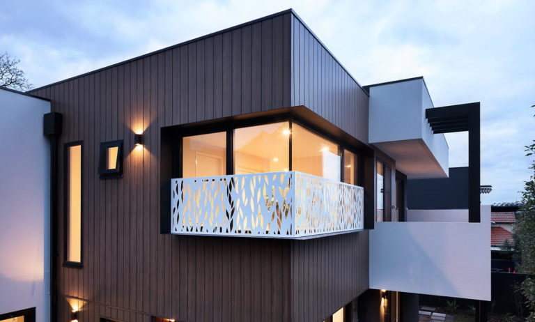 Optitherm IGU Ivanhoe residential build