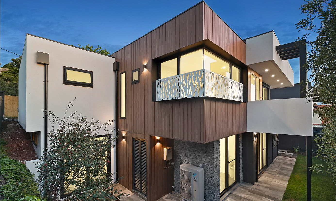 Optitherm IGU Ivanhoe residential build
